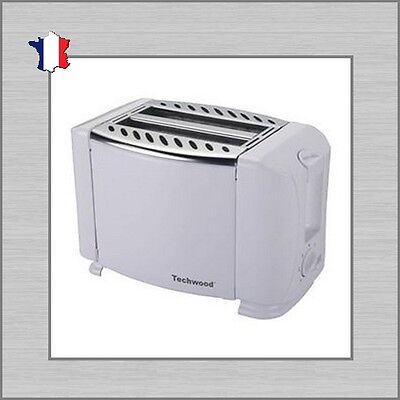 GRILLE-PAIN DOUBLE TECHWOOD TGP 203 Blanc NEUF TOASTER DOUBLE