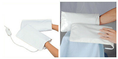 Electric Heated Mitts for Manicure Paraffin Spa Treatment