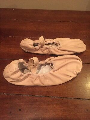 Pink Prima Soft Ballet Shoes Girls Size 2
