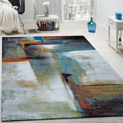 Modern Area Rug Designer Quality Rugs Colourful Carpets Small XL Large Mats New