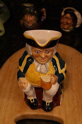 Large Vintage Carlton Ware Toby Jug early 20th Century Traditional Handpainted