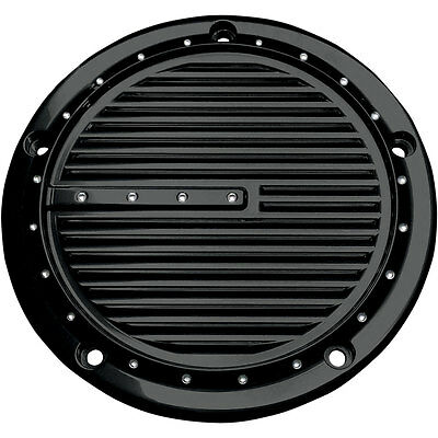 Covingtons Gloss Black Dimpled Derby Cover for 1999-2017 Harley Big Twin Models