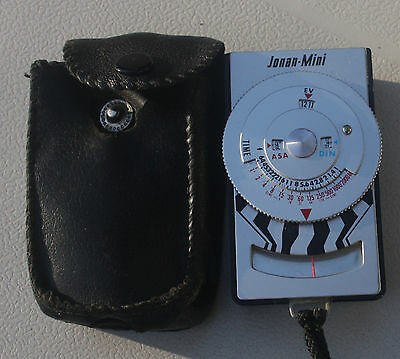 Vintage Jonan-Mini Light Meter - Perfect Working Order With Original Case