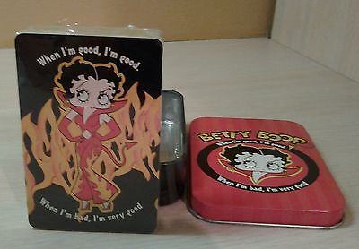 2005 Betty Boop Playing Cards in Collector Tin New Sealed