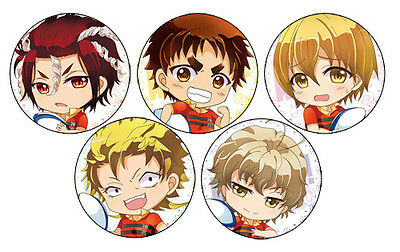 All Out!! Chibi Anime Badge Button
