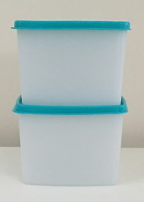 New Tupperware Freeze-It SMALL DEEP Square Freezer Container - BPA Free *Qty 2*