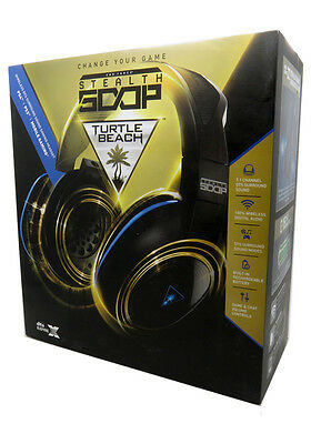 Turtle Beach Ear Force Stealth 500P Wireless DTS Gaming Headset for PS4, PS3