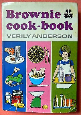 Vintage Brownie Cook Book by Verily Anderson. Hardback First Edition 1972