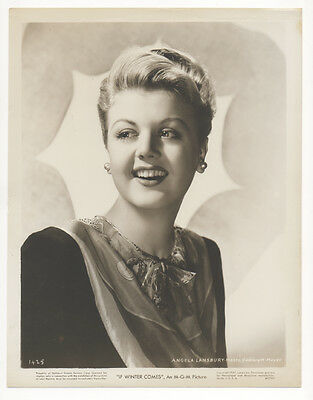 Vintage MGM 1947 IF WINTER COMES Original 8x10 ANGELA LANSBURY Portrait LOVELY!