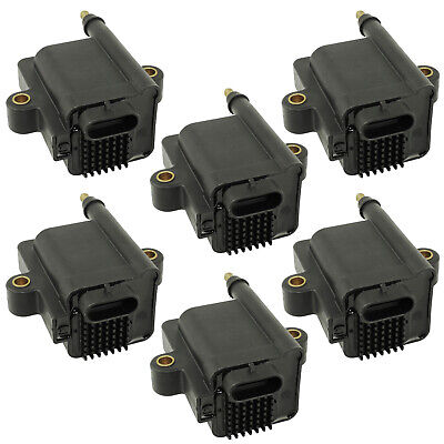 6-PACK IGNITION COILS Fits MERCURY OUTBOARD 200 225 250 HP DFI 3.0L DTS