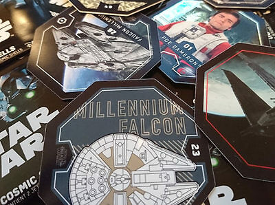 Collection star wars Complete 54 cartes 2016 Rogue One Cosmic Shell Leclerc