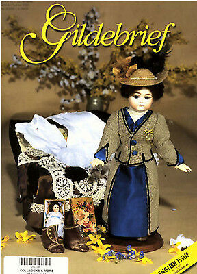 Gildebrief 2/2005 Dollmaking Antique Dress & Knitting Patterns Flirty Eyes Kesne
