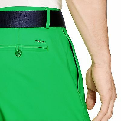 Rlx Ralph Lauren Bnwt Green Golf Shorts W 38 Guaranteed Authentic