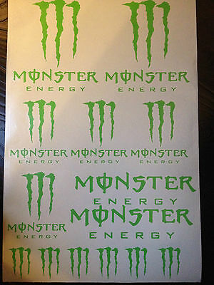 x20 Monster Claw Motorcycle & Car Motocross ETC.Vinyl Stickers Decals