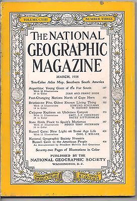 national geographic-MAR 1958-ARGENTINA:YOUNG GIANT OF THE FAR SOUTH.