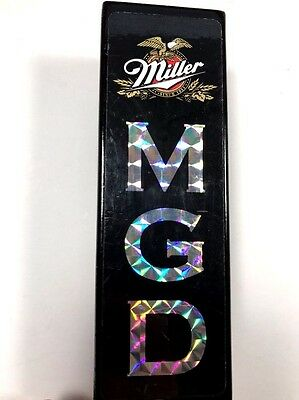 Miller MGD 5' Beer Tap Handle Black Holographic