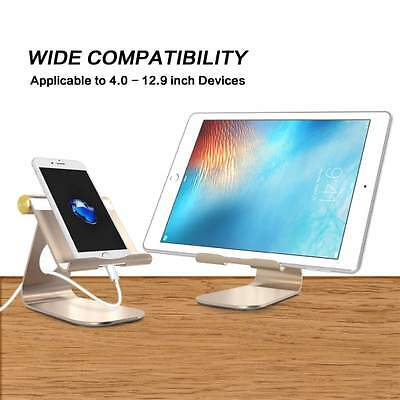 iPad Pro Stand, OMOTON Multi-Angle Aluminum Stand, with Portable Adjustable Char