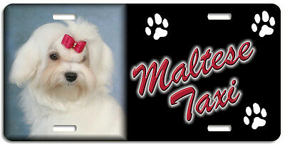 Maltese 3 Taxi Line License Plate (( LOW CLEARANCE PRICE ))