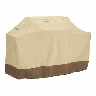 Double Stitching BBQ Grill Cover - Barbeque Waterproof Grill Cover for Large Acc
