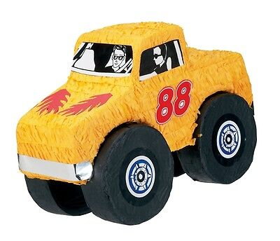 Monster Truck Pinata - Boys Monster Jam Themed Birthday Party Games & Supplies