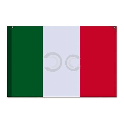 Bandiera Italiana 100X150 Cm Con Passante Per Asta E Appendibile Idea Regalo New