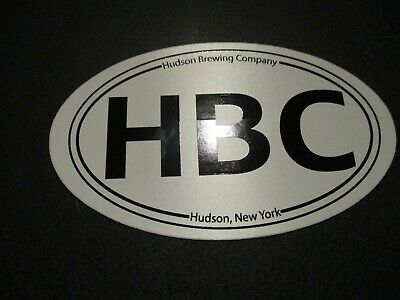 HUDSON BREWING COMPANY New York STICKER decal craft beer brewery