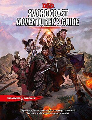 Sword Coast Adventurers Guide D&D 5th Edition 5E - NEW Unopened