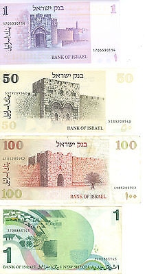 Israel Shekel Currency  Banknotes