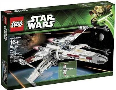 LEGO Star Wars Red Five X-wing Starfighter 10240 BRAND NEW SEALED UCS. FREE POST