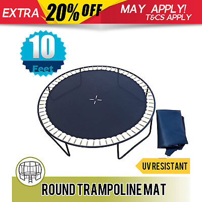 NEW Mat Replacement Spare Parts for Round Trampoline 10FT with 64 Spring Loops