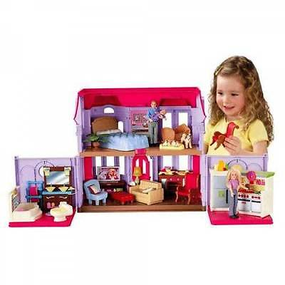 NEW Fisher Price Pretend Toy Doll House Loving Family -  Family Manor