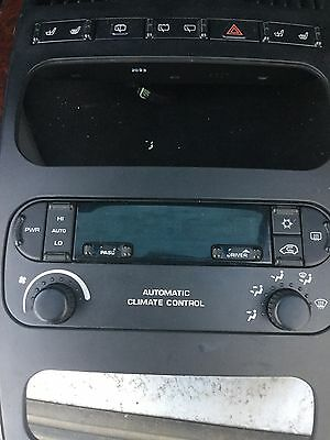 Chrysler Grand Voyager 04-08 Ac Heater Climate Control Panel P05127377Aa