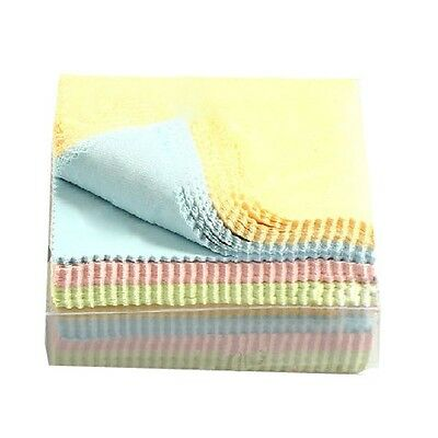 100Pcs Phone Screen Camera Lens Glasses Microfiber Square Cleaner Cleaning Cloth