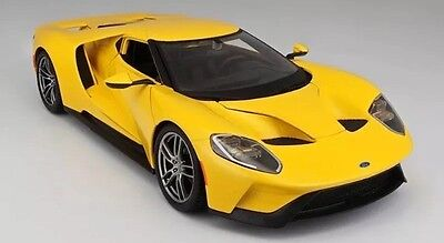 1:18 Maisto Diecast 2017 Ford  GT, Special Edition, Brand New, Yellow