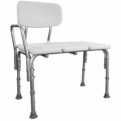 Bath Transfer Chair Bench Seat Stool Shower Aluminium Height Adjustable Medical