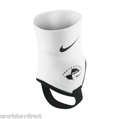 Nike Ankle Shield Protectors /black Onesize Fits All Youth 12 Years Upwards