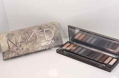Urban Decay Naked Smoky Eyeshadow 12 Color Palette Brand New in Box Retail $54