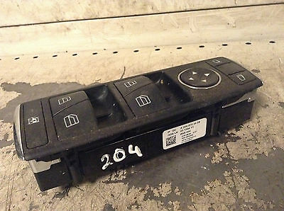 Mercedes-Benz C Class W204  Front right driver side window switches 2048703458