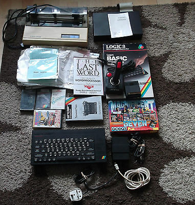 Zx Spectrum+ With Games & Accesories Vintage Computer Game