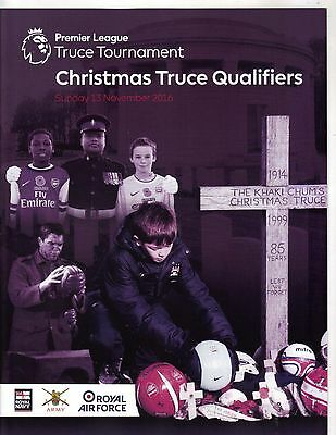 2016 Christmas Truce- Chelsea West Ham Spurs Norwich Leicester Swansea West Brom