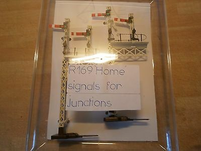 Hornby R169 Double Home Signals X 2 New