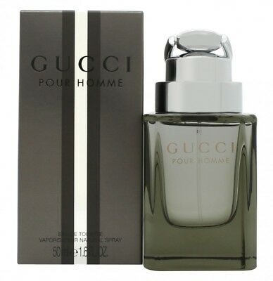 Gucci By Gucci Pour Homme Eau De Toilette 50Ml Spray (New Version) - Men's. New