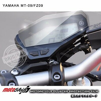 Cluster Scratch Protection Film / Shield for Yamaha FZ09 / MT-09 - motoSkin