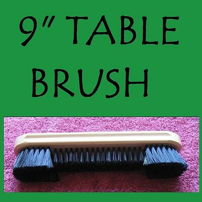 """POOL/ SNOOKER """"QUALITY 9"""" BRUSH """" a must for all tables amazing value for $$$"""