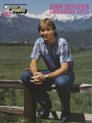 John Denver Greatest Hits E-Z Play Today Very Easy Piano Keyboard Music Book
