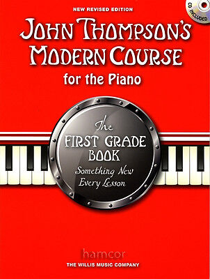 John Thompson's Modern Course for the Piano First Grade Book/CD Tutor Method