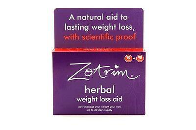 Zotrim Weight Loss Tablet (1 pack of 180 tablets) - RRP £24.95