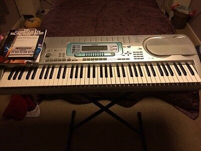 Casio WK-3000/3500 Keyboard with stand