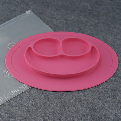 Baby Toddler Kids Food Grade Silicone Feeding Placemat Plate Food Table Mat Gift
