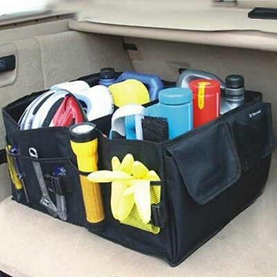 CAR Trunk stuff organizer box with storage compartments Lightweight Collapsible